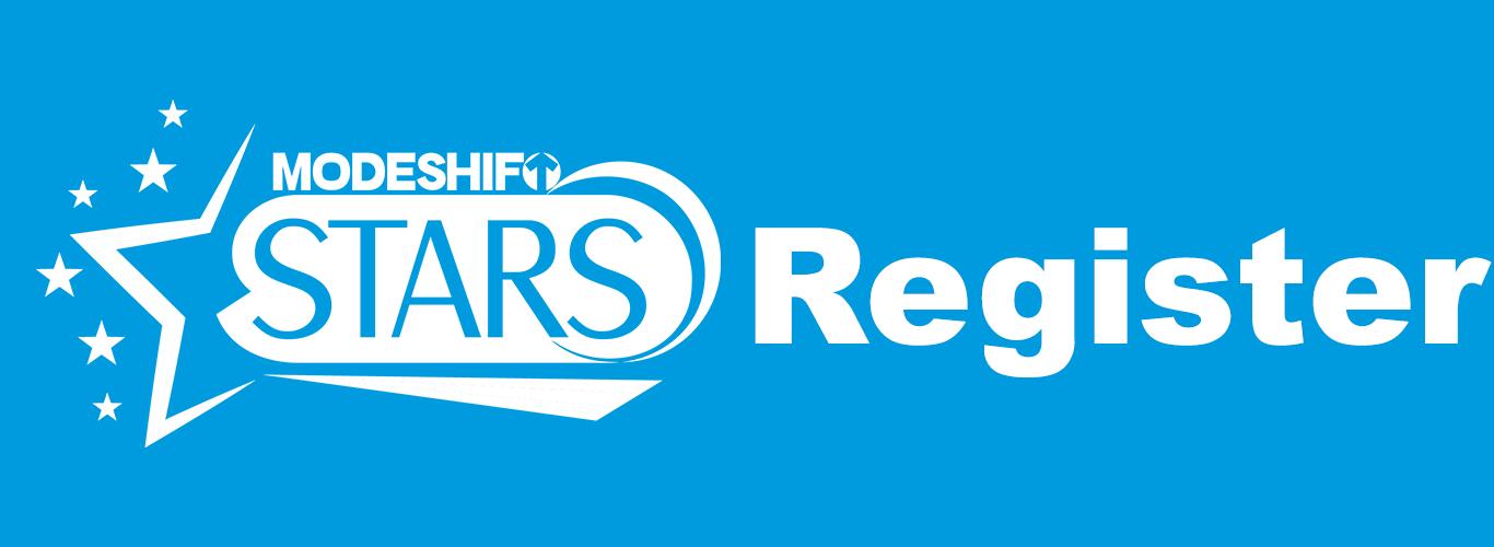 Click here to Register for Modeshift STARS
